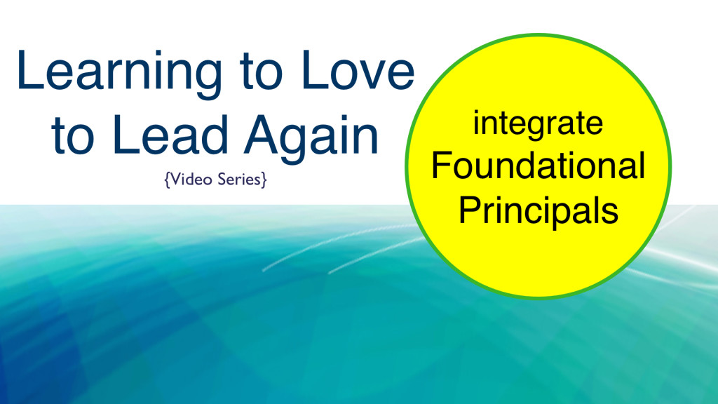 integrate Foundational Principals.023